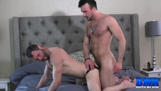 Mason Lear fucks hairy man Dusty Williams