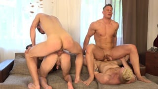 Wank Party 2016 #05 Part 2 with Tom Vojak, Laco Meido, Tomas Decastro and Jaro Vykvet