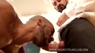 Frederick Berlin gets fucked by Cristian Torrent