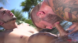 Shooting Hoops with aiden woods and colby jansen