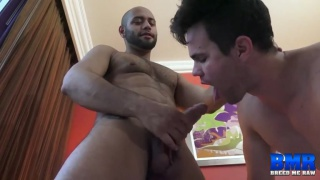 Beau Reed bottoms bare for Leo Forte