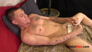 Andrew Fugate Returns to stroke his cock