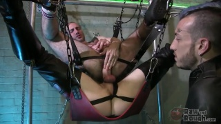 Double Decker Sling Fuck with AJ Alexander