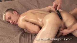Radim Hora gets hole fingering Massage