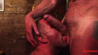 Hairy Hunks Trojan Rock and Dane Hyde