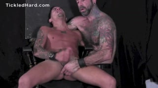 mathew rock gets his size 10 feet tickled