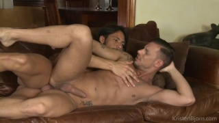 Horndogs scene 12 with Sergyo and Ansony
