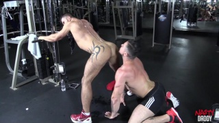 gym buddies with Adam Killian and Trenton Ducati