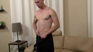 blond boy-next-door vance jerks off
