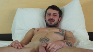 bearded polish guy Justin fucks his first ass