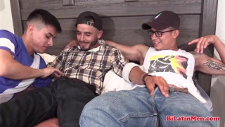 latin guys Sparks, Fyt & Kronik in threeway