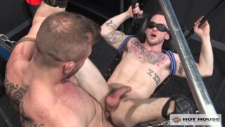 Blindfolded with Colton Grey and Austin Wolf