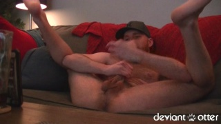 deviant otter's late night horny cam show