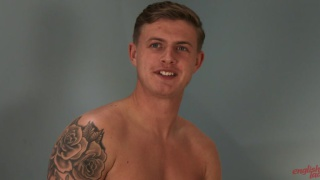 Footballer Jack Gives his Hole a workout with dildo