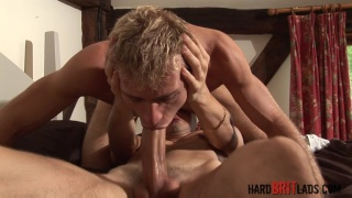 Luke Desmond fucks Leo Helios with his 9 inches