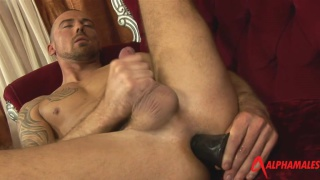 Marco Sessions dildo fucks his ass