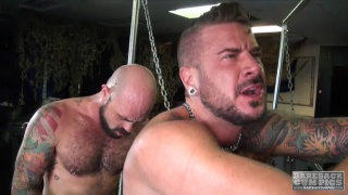 Dolf Dietrich gets bare fucked by Rogus Status