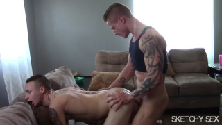 CHRONIC - sex addict gets fucked multiple times