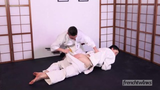 Twinks Judo Fight with Enzo Lemercier and Timy Detours