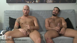 Trey Turner seduces straight guy parker Logan