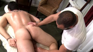 Big Cock Massage with Van Wilder & Joey Doves