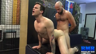 Beau Reed takes Damon Andros's daddy dick