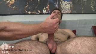 cuban straight guy needs a handjob to get off