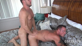 Hans Berlin and Sean Duran Bareback