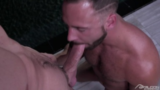 Logan Moore and Jack Hunter blow each other