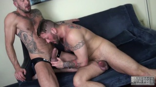 Hugh Hunter and Dolf Dietrich barebacking