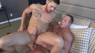 Jack and Lane bareback fucking