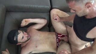 Alex Mason Takes Huge White Trash Cock
