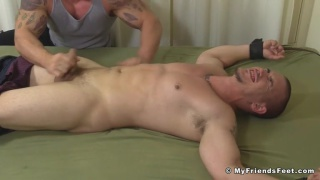 Adam bryant gets tickled by two men