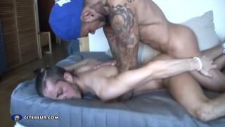 Fucked like a whore by big latin cock