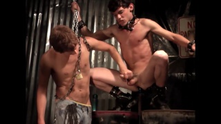 Tricked & Treated Part 2 at bad boy bondage