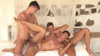 steamy threeway with Antony Lorca, Rhys Jagger and Andrei Karenin