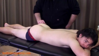 Chris gets Massage and Handjob