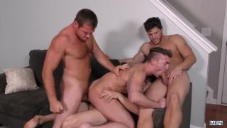 Dad Group with Connor Maguire, Aspen, Ashton McKay & Jake Ashford