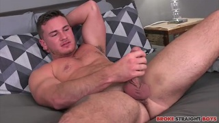 Brenden Steel debuts at Broke Straight Boys