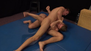 wrestling with Mirek Madl and Martin Polnak