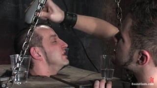 Slave shaved and abused