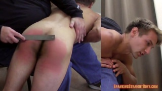 Adam sharpe's First Spanking Part 2