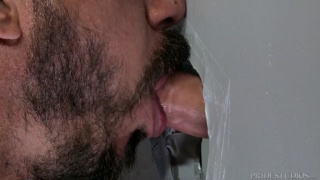 Gym Glory Hole with Alessio Romero and Brian Bonds