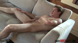 Daniel Johnson strokes his big dick