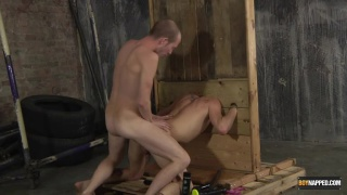 regarder la vidéo: Buggered In The Stocks with michael wyatt and sean taylor