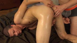 MATEJ SONER gets an erotic massage