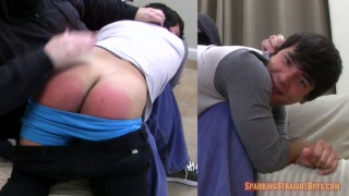 Cameron's First Spanking