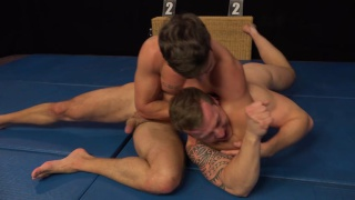 wrestling with Martin Gajda and Filo Bruska