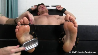 Aleck agreed to be tied up and tickled