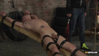 Ashton Bradley finds bound Michael Wyatt waiting for him